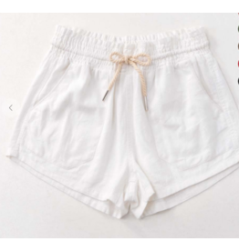 Shorts 58 White Linen Summer Shorts