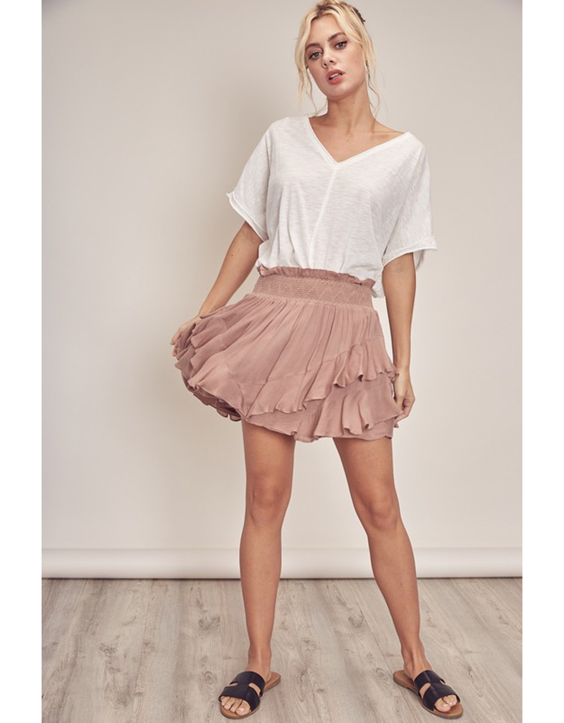 Skirts 62 Love You Latte Smock Skort