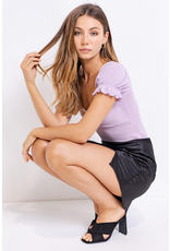 Tops 66 Loving It Lavender Bodysuit
