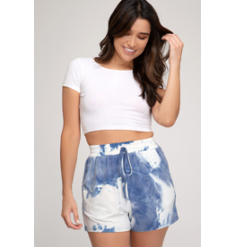 Shorts 58 Blueberry Tie Dye Shorts