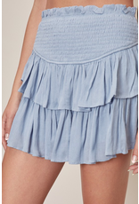 Skirts 62 Smile More Smocked Skort
