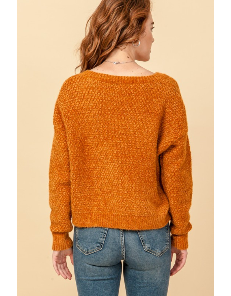 Tops 66 Fuzzy and Fun Sweater