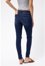 Pants 46 Moderate Distressed KanCan Dark Denim Skinny