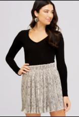 Skirts 62 Pleated Snake Skirt
