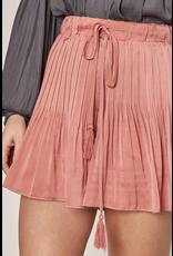 Skirts 62 Pretty Pleats Clay Skort