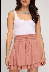 Skirts 62 Fall Copper Ruffle Skirt