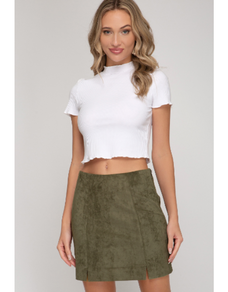 Skirts 62 Suede This Way Skirt