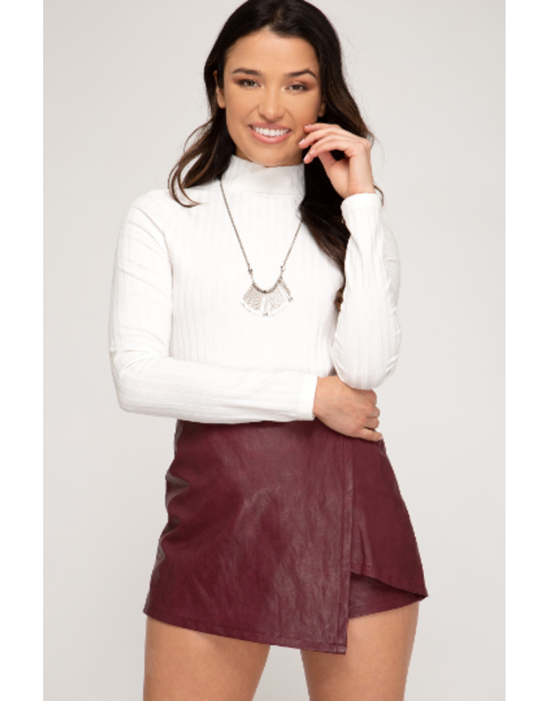 Skirts 62 Leather Skort