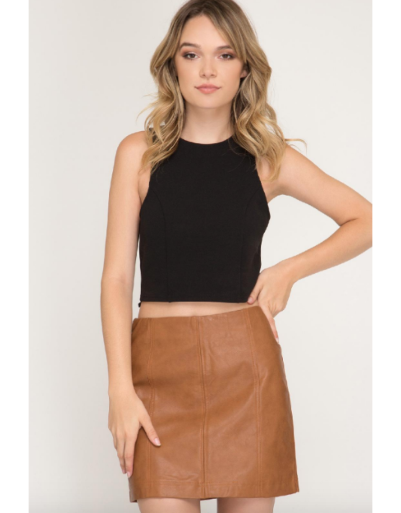 Skirts 62 Fall Feels Leather Skirt
