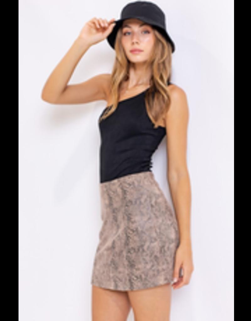 Skirts 62 Mocha Latte Snake Print Skirt