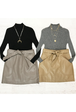 Skirts 62 Winter Leather Pocket Skirt