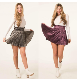 Skirts 62 Satin Ruffle Skirt