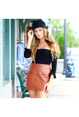Skirts 62 Move Forward Leather Skirt