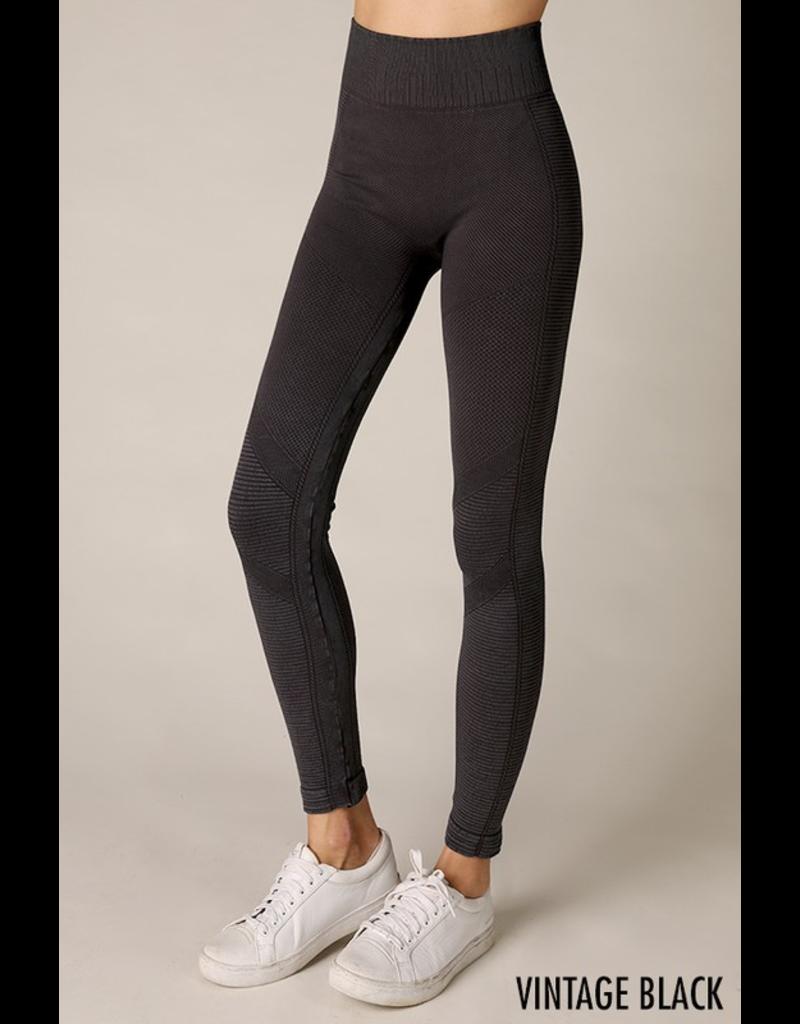 Pants 46 Vintage Wash Black Leggings
