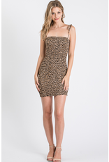 Dresses 22 Smock Leopard Dress