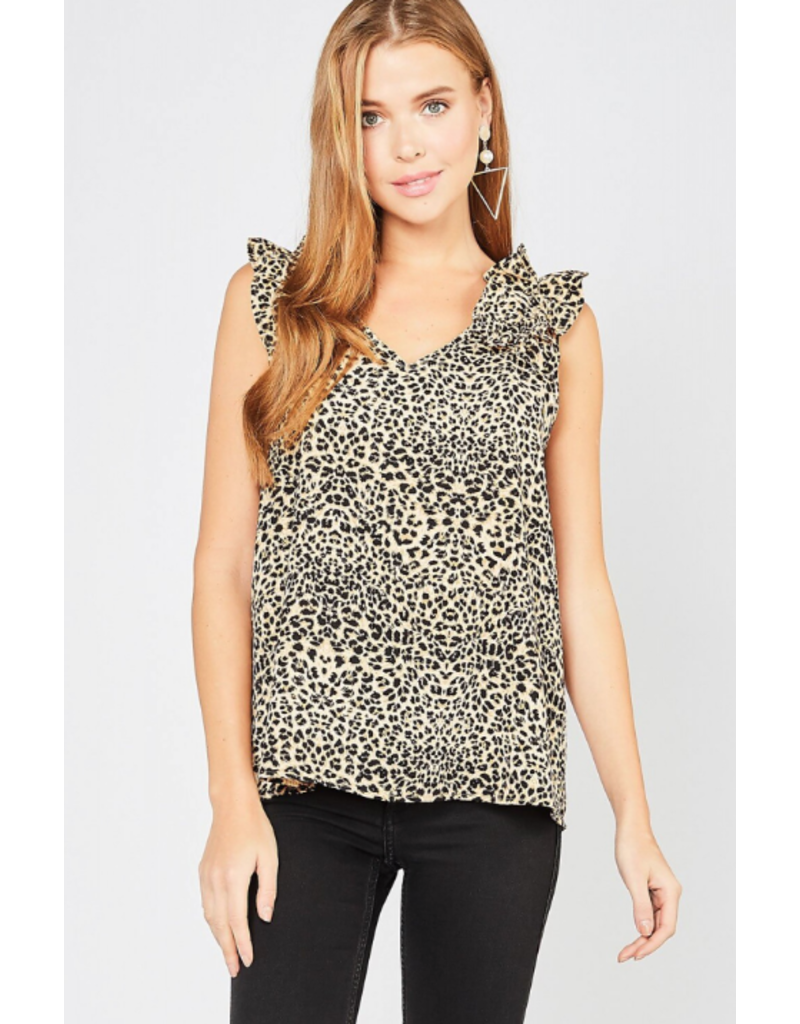Tops 66 Go Wild For A While Leopard Top