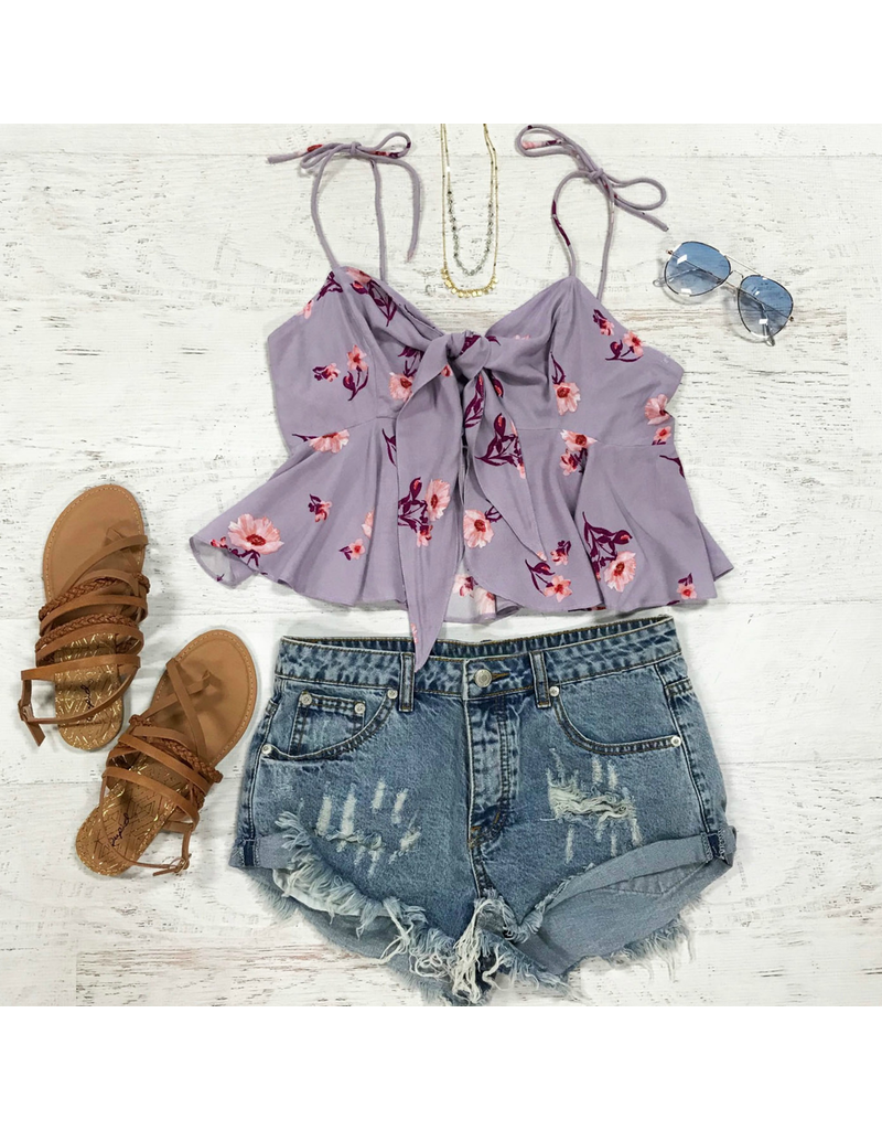 Tops 66 Lilac Love Floral Top