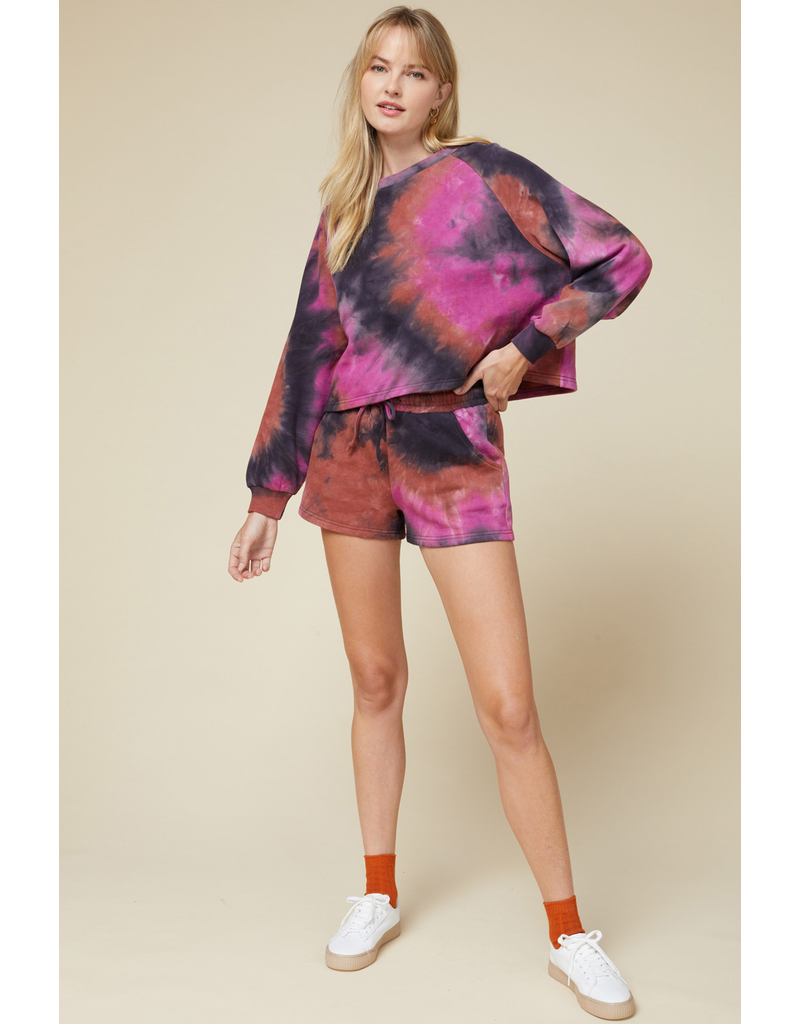 Shorts 58 Fall Forecst Tie Dye Comfy Shorts