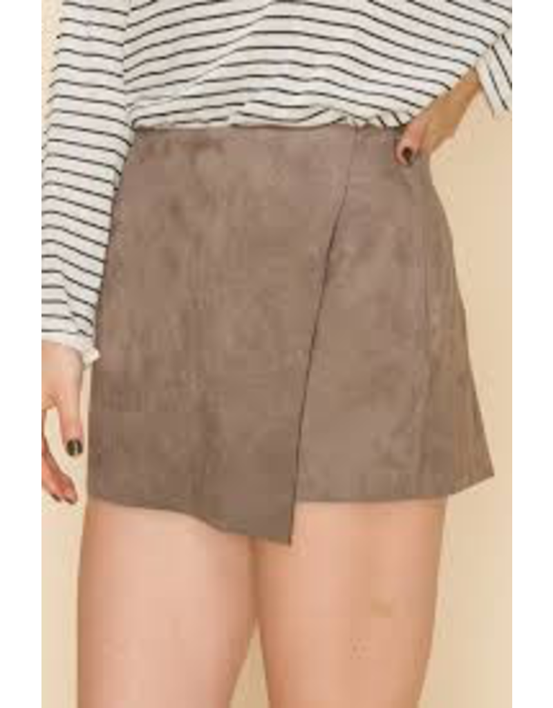 Skirts 62 Fall Essential Suede Skorts