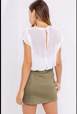 Tops 66 Sheer To Please Open Back Bodysuit
