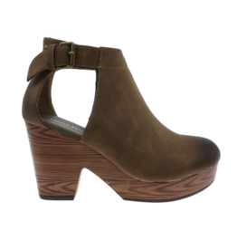 Shoes 54 New Direction Taupe Platforms