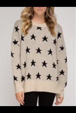 Tops 66 You're A Super Star Sweater