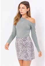 Skirts 62 Wild About You Leopard Spotted Skirt