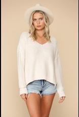 Default Move Forward V Neck Sweater