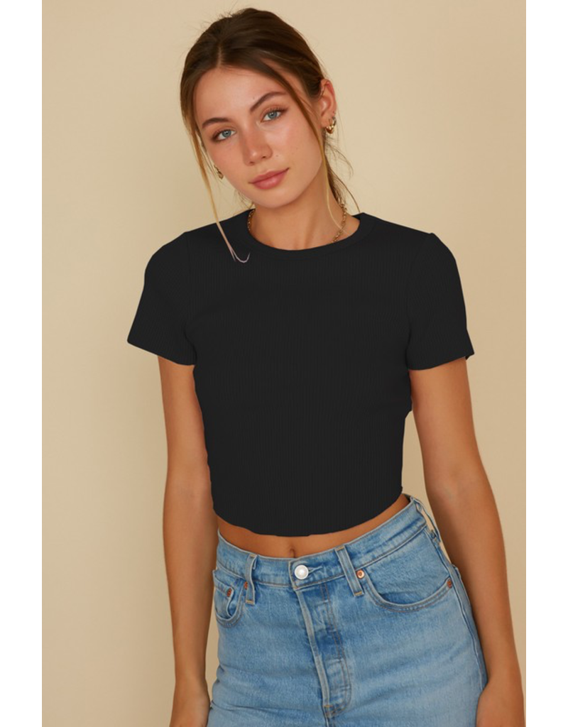 Tops 66 Crop It Baby Top