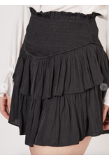 Skirts 62 Smocked Black Skort