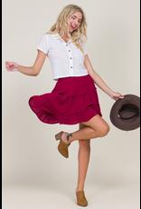 Skirts 62 Fall Chill Ruffle Skirt