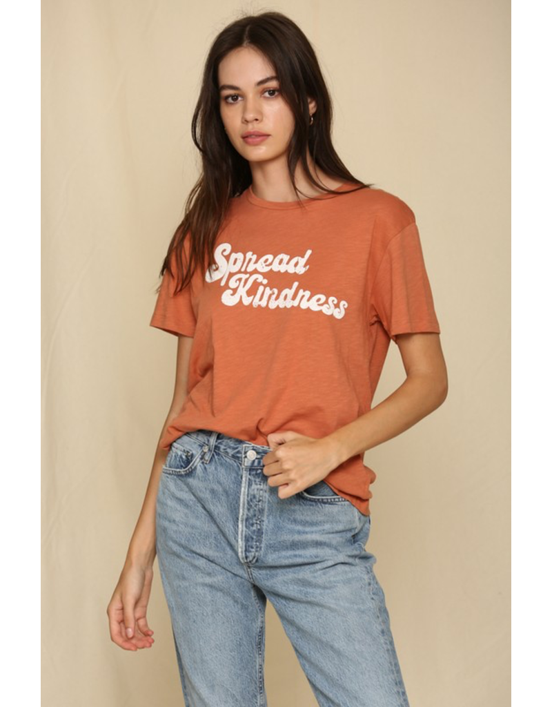 Tops 66 Spread Kindness Graphic Tee