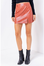 Skirts 62 Fall Ready Rust Leather Skirt