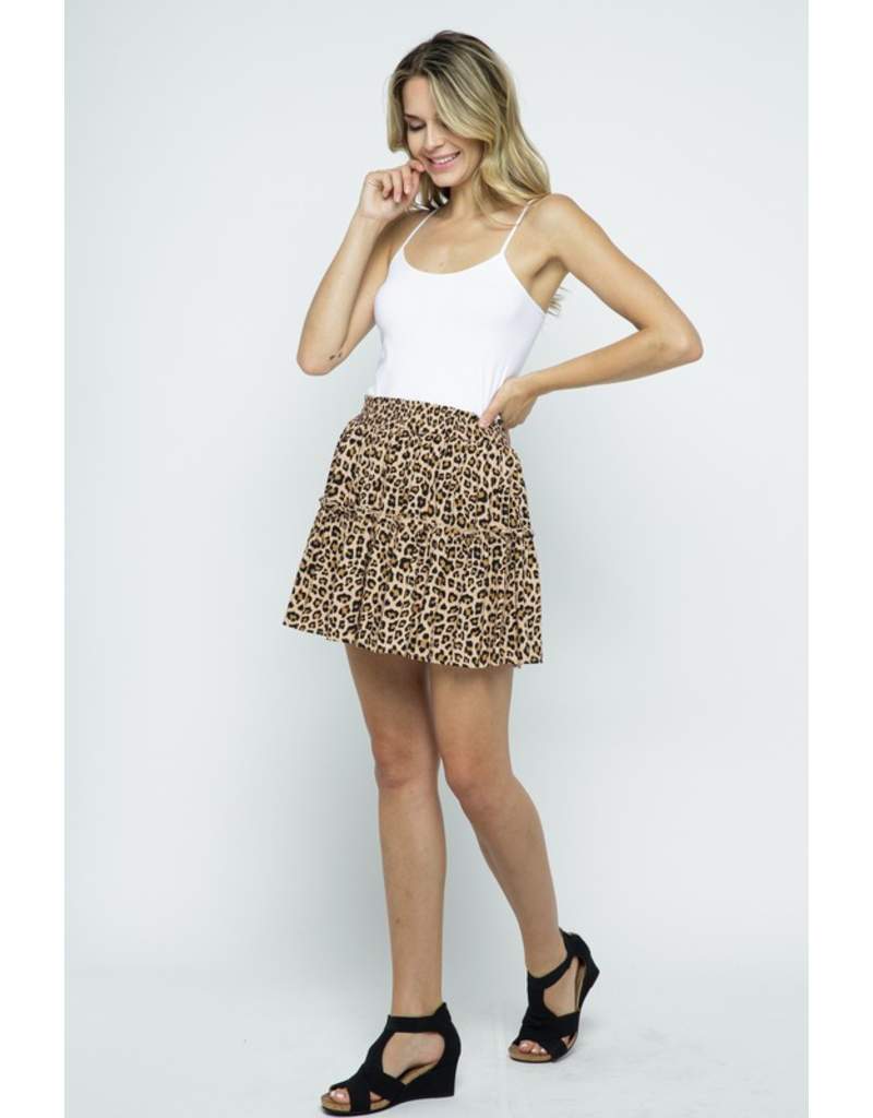 Skirts 62 Spot On Leopard Skirt