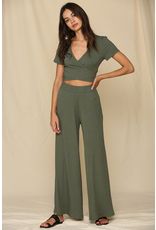 Pants 46 Olive You Very Much Flare  Pants