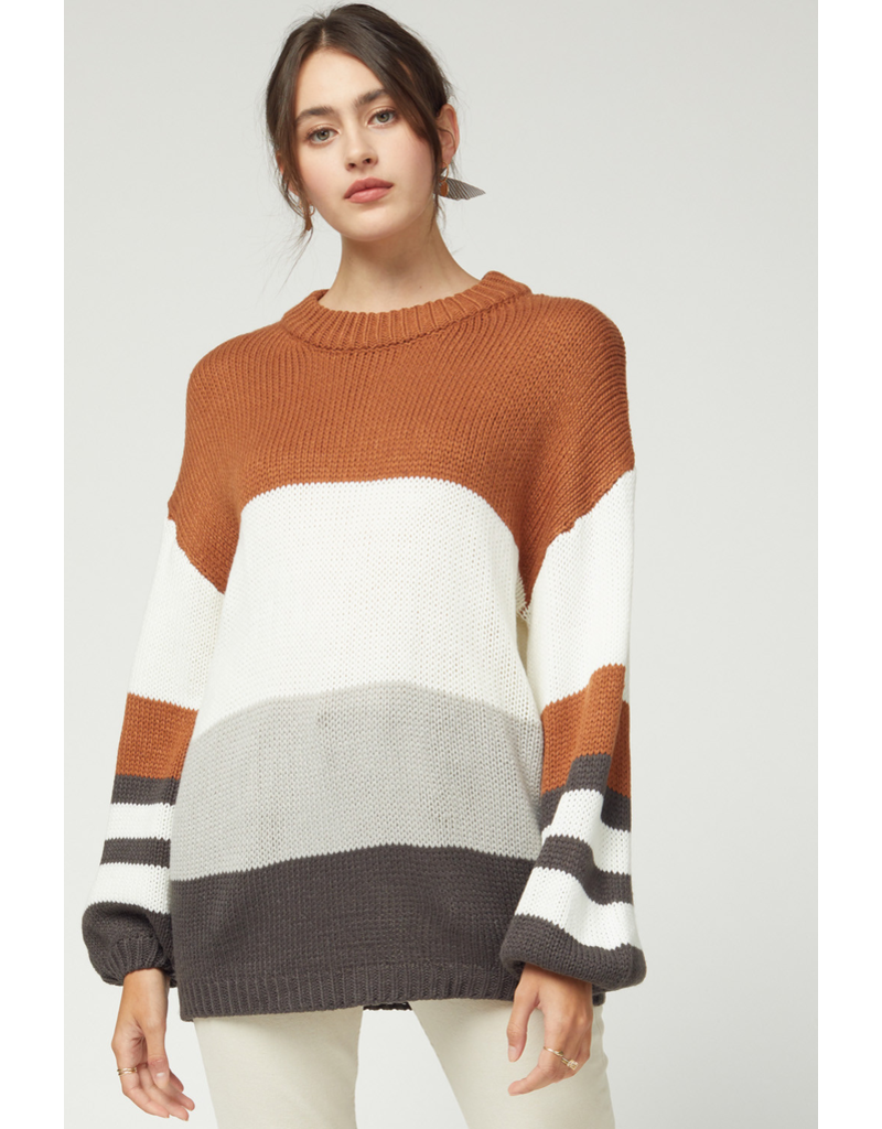 Tops 66 You're Color Blocked Sweater