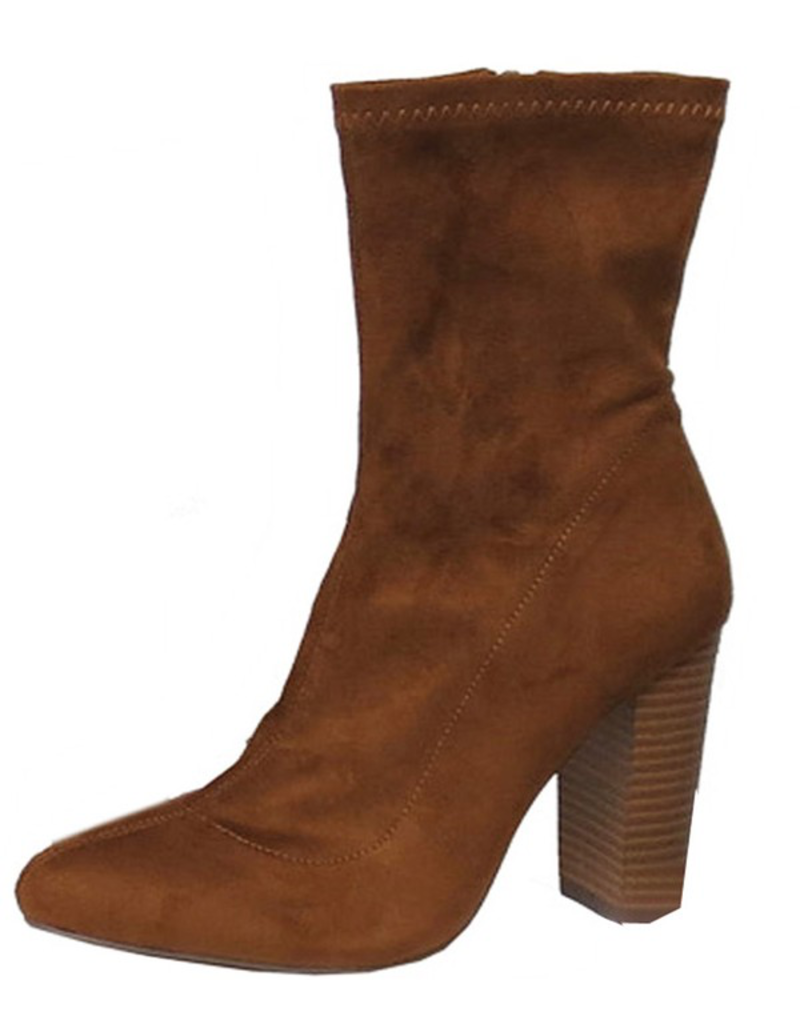 Shoes 54 New Heights Tan Midi Boots