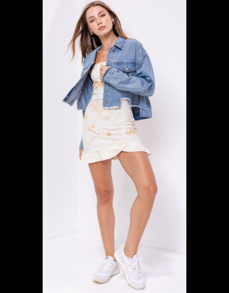 Outerwear Dreamer Distressed Denim Jacket