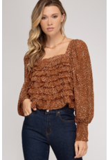 Tops 66 Fall Feels Smock Top