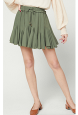 Skirts 62 Ruffle Around Olive Skort