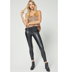Pants 46 Faux Black Leather Leggings