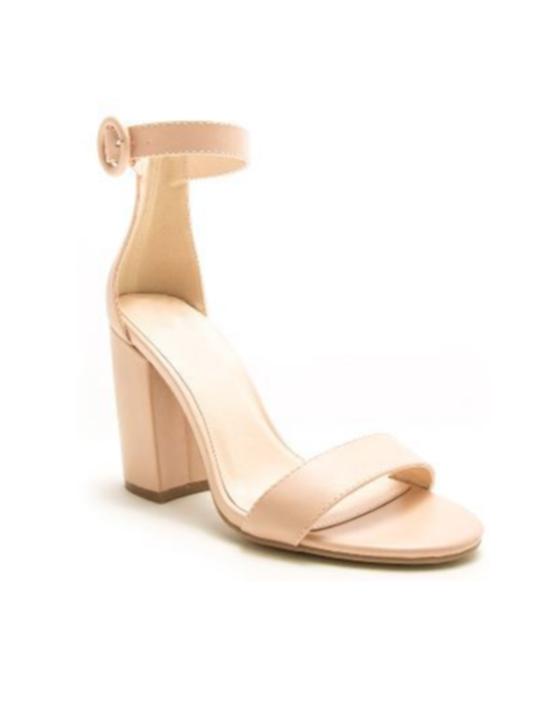 Shoes 54 Nude Block Heel