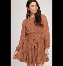 Dresses 22 Fall Feels Rust Dress