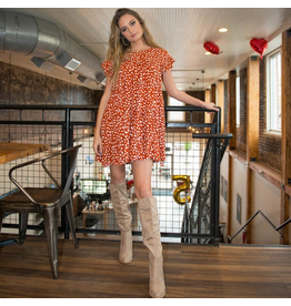 Dresses 22 Hello Baby Doll Dotted Pumpkin Dress