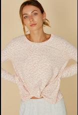 Tops 66 Comfy Pink Leopard Top
