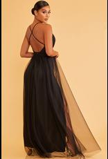 Formalwear Tulle Occasion Black Dress