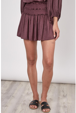 Skirts 62 Pretty Plum Smock Skort
