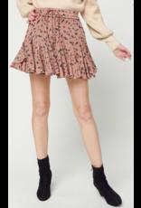 Skirts 62 Fall Flouncy Rust/Charcoal Pattern Skort