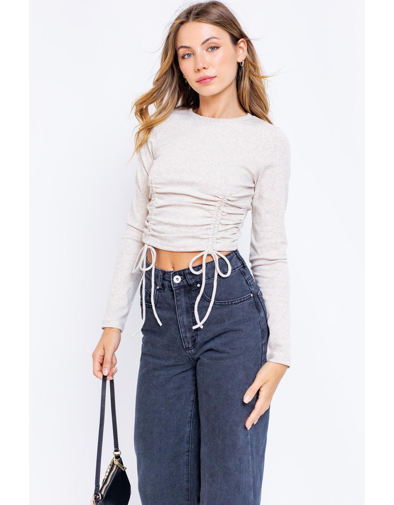 Tops 66 Fall Essential Ruched Top