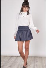 Skirts 62 Fall Blue Hue Smocked Skort